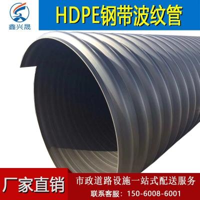 HDPE钢带波纹管